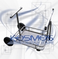 Kart Trolley Chrome-Plated